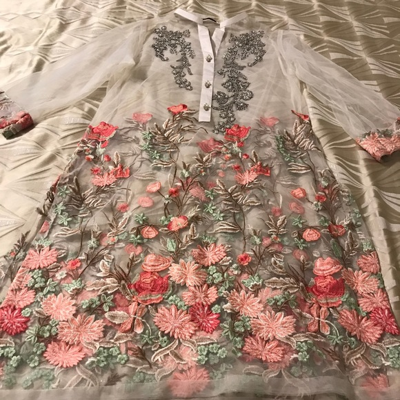 1410243d3b Agha Noor Dresses & Skirts - Indian/Pakistani Agha Noor Net Kurti